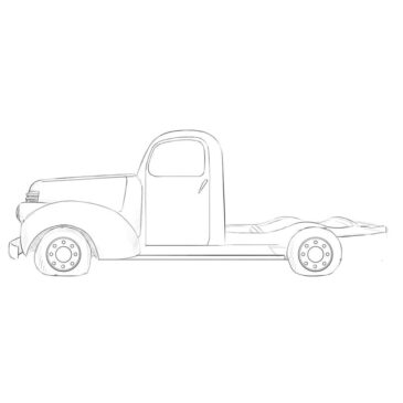 How to Draw an Abandoned Truck